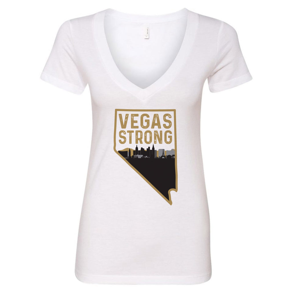 Vegas Strong V-Neck T-Shirt
