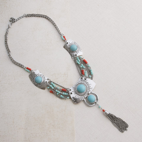 Native Pride Silver Necklace - pipercleo.com