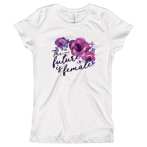 The Future is Female Youth Size T-Shirt