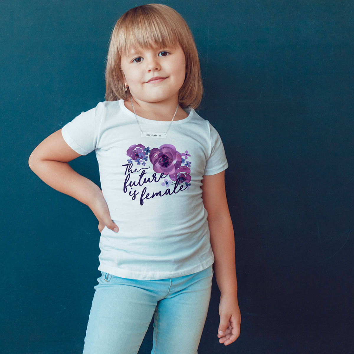 The Future is Female Toddler Softstyle T-Shirt