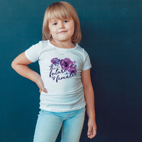 The Future is Female Toddler Softstyle T-Shirt - pipercleo.com