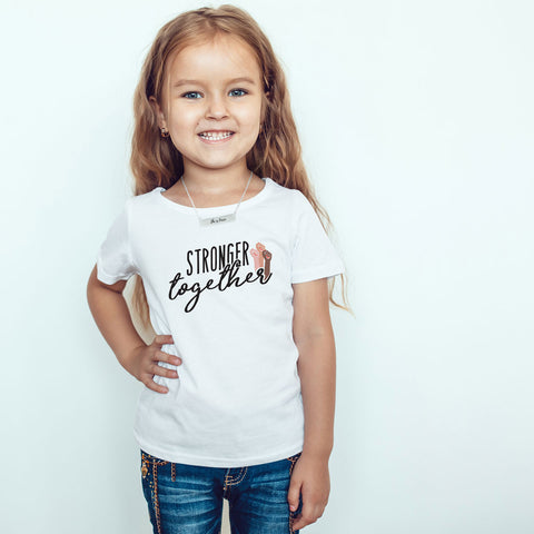 Stronger Together Toddler Softstyle T-Shirt - pipercleo.com