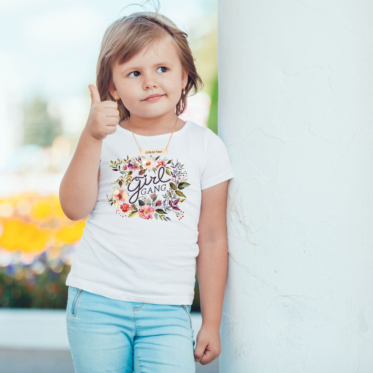 Girl Gang Toddler Softstyle T-Shirt - pipercleo.com