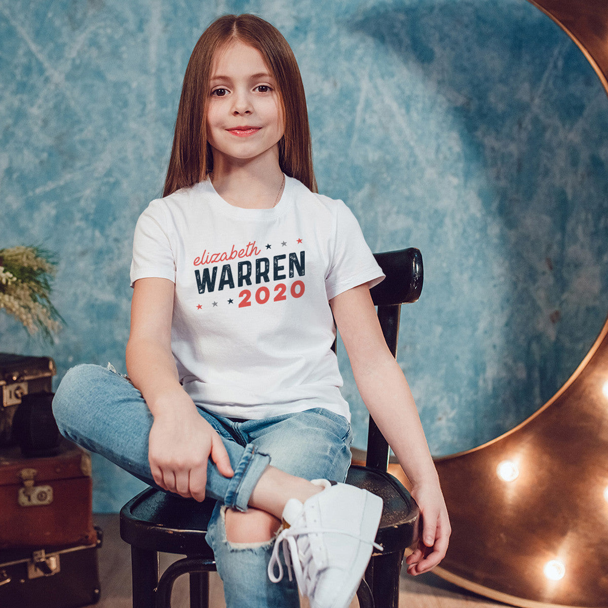 Elizabeth Warren 2020 Youth Size T-Shirt