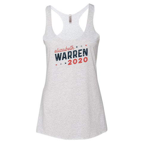 Elizabeth Warren for President 2020 Racerback Tank - pipercleo.com
