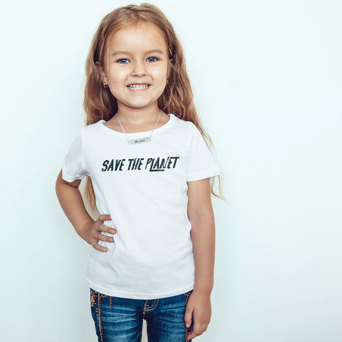 Save the Planet Toddler Softstyle T-Shirt - pipercleo.com
