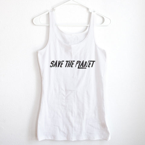 Save The Planet Ladies' Tank