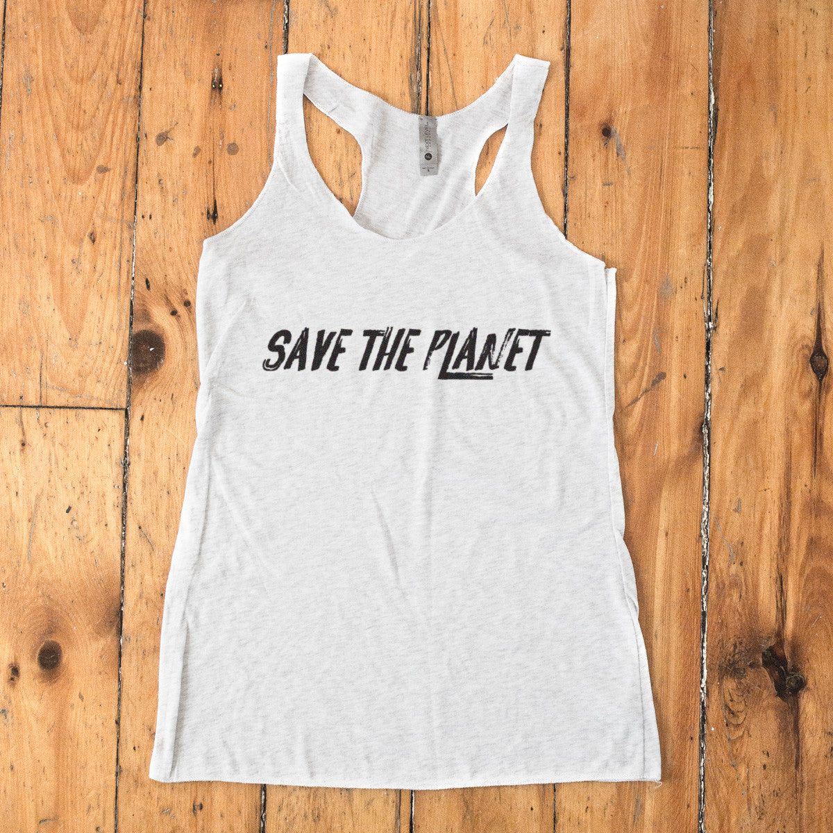 Save The Planet Racerback Tank - pipercleo.com