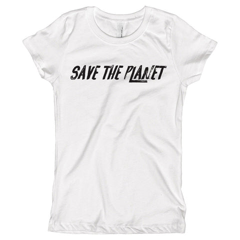 Save the Planet Youth Size T-Shirt - pipercleo.com