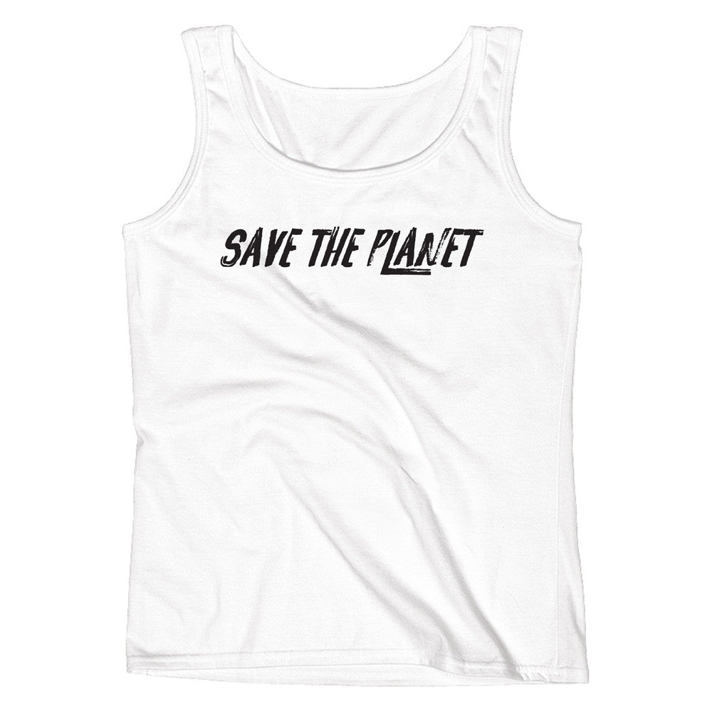 Save The Planet Ladies' Tank - pipercleo.com