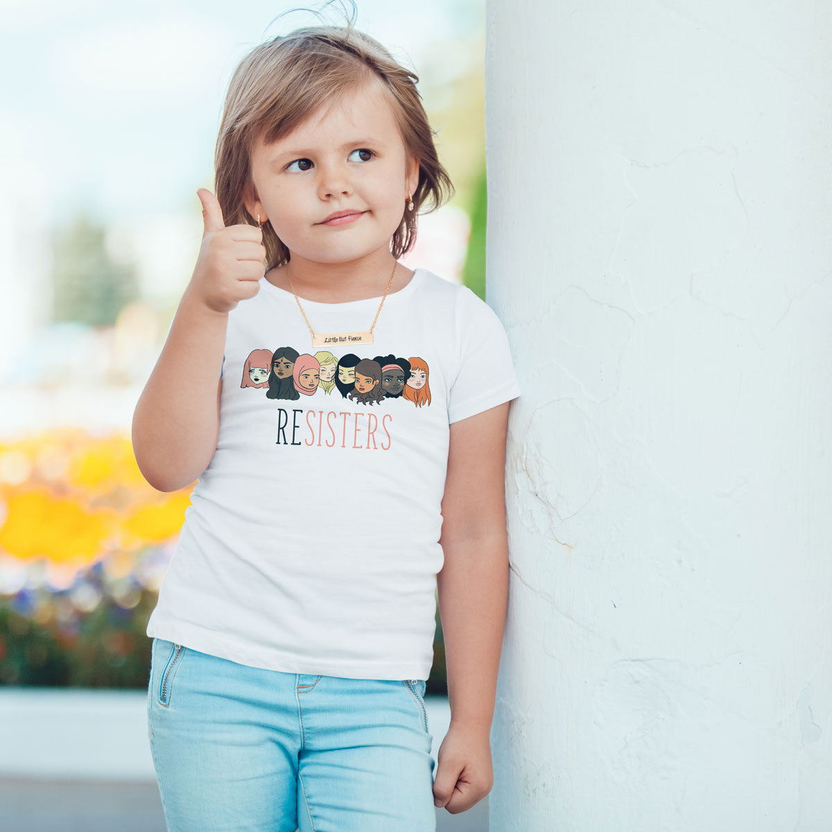 ReSISTERS Toddlers Softstyle T-Shirt - pipercleo.com