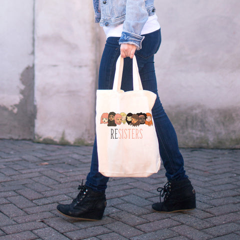 ReSISTERS Cotton Tote Bag