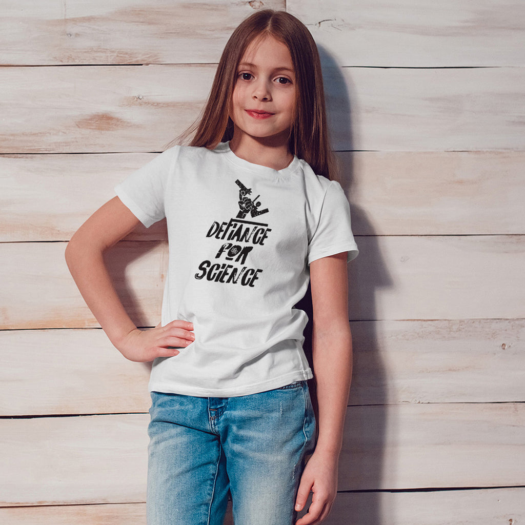 Defiance for Science! Youth Size T-Shirt - pipercleo.com