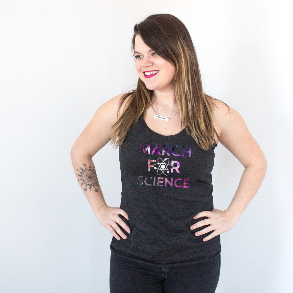 March for Science Racerback Tank - pipercleo.com