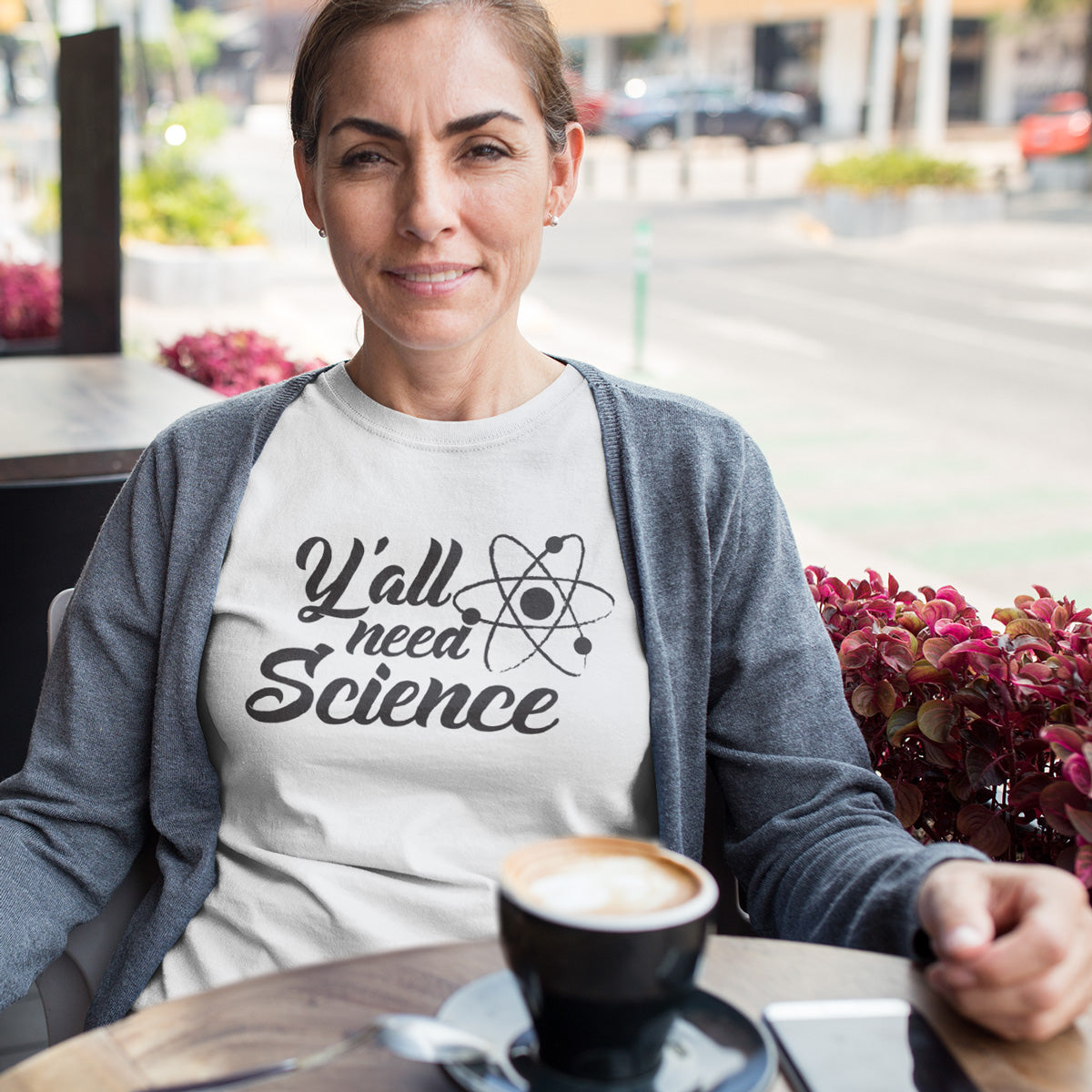 Y'all need SCIENCE Ladies' Boyfriend T-Shirt