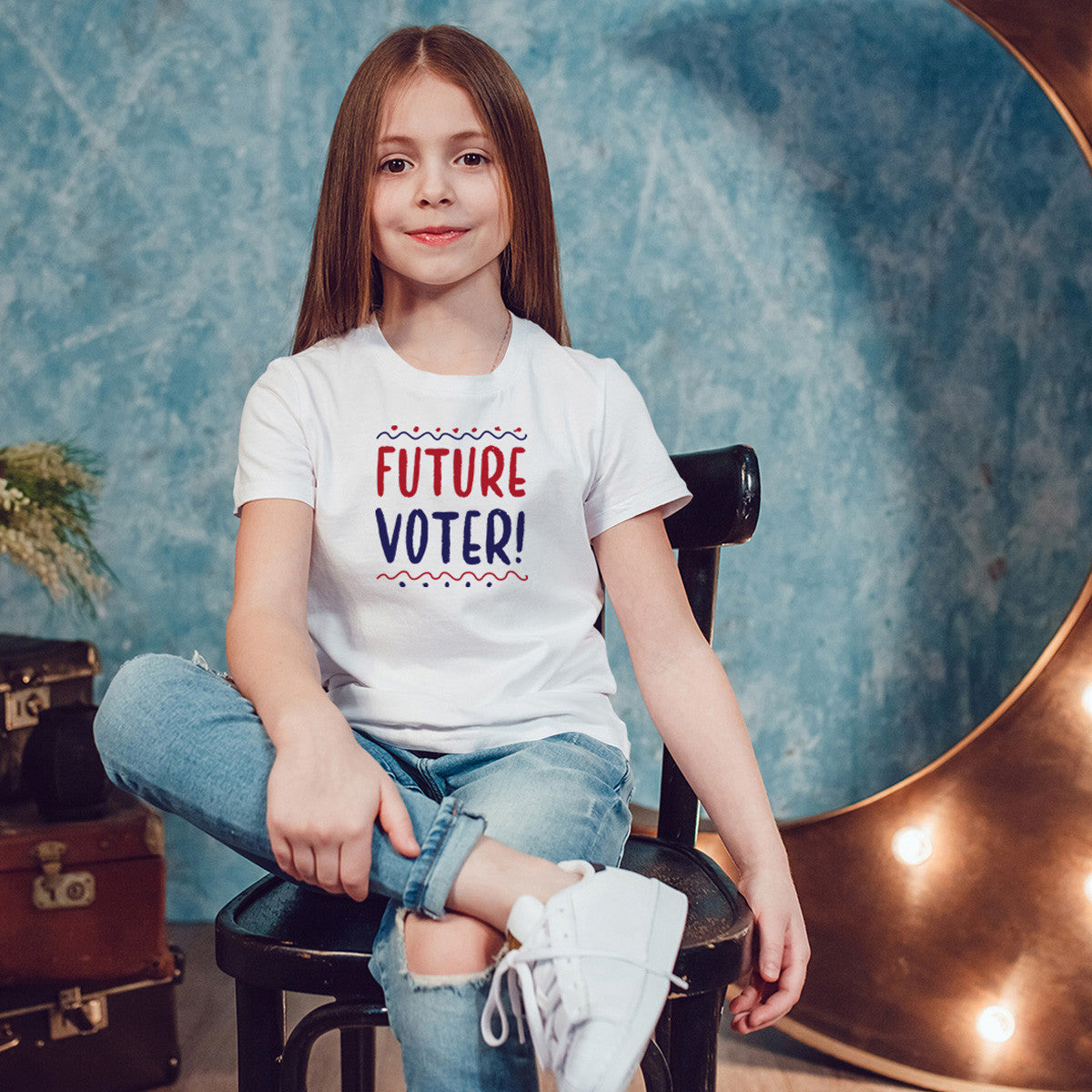 Future Voter Youth Size T-Shirt - pipercleo.com