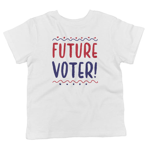 Future Voter! Toddler Softstyle T-Shirt