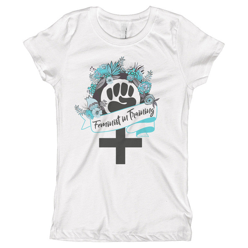 Feminist in Training Youth Size T-Shirt - pipercleo.com