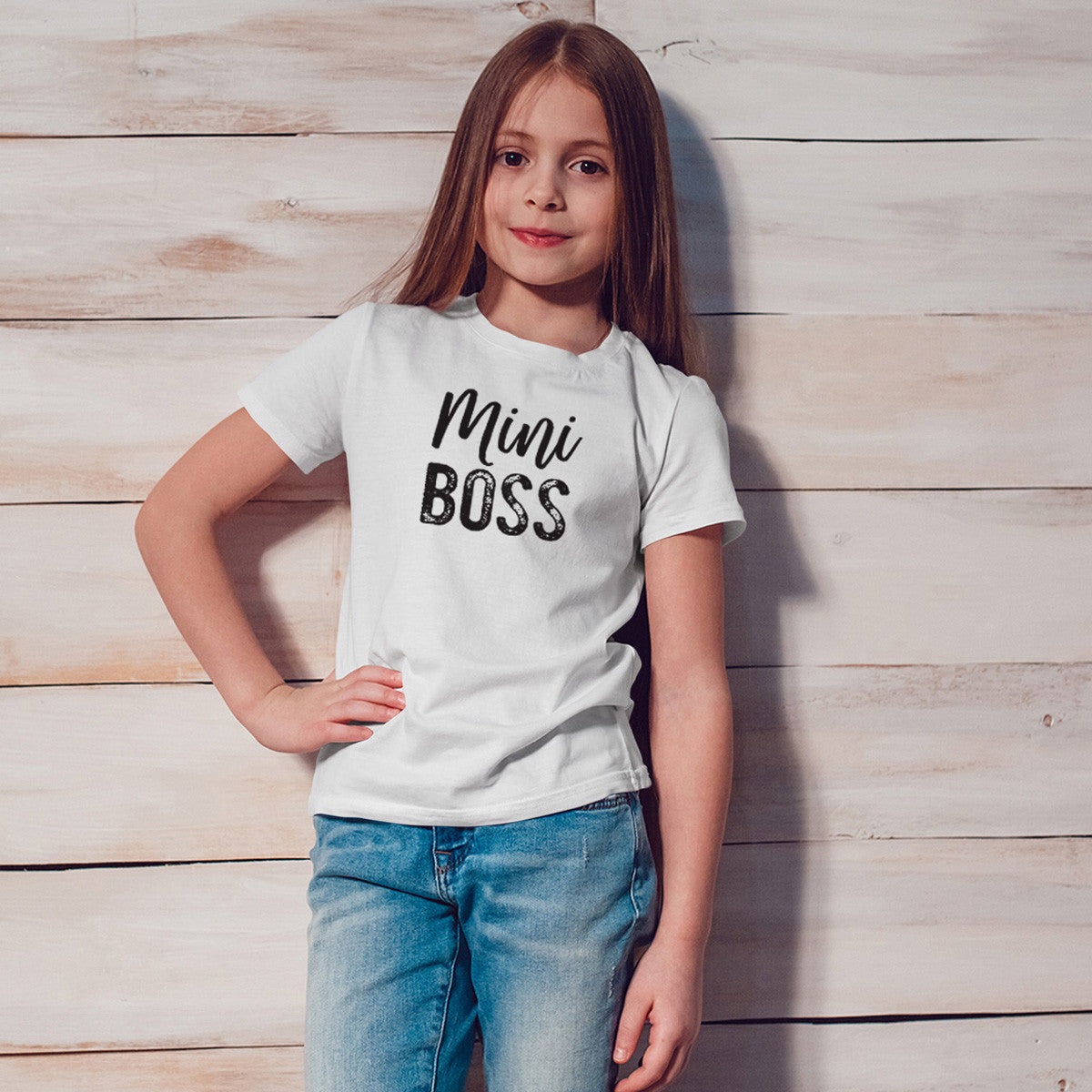 Mini Boss Youth Size T-Shirt - pipercleo.com