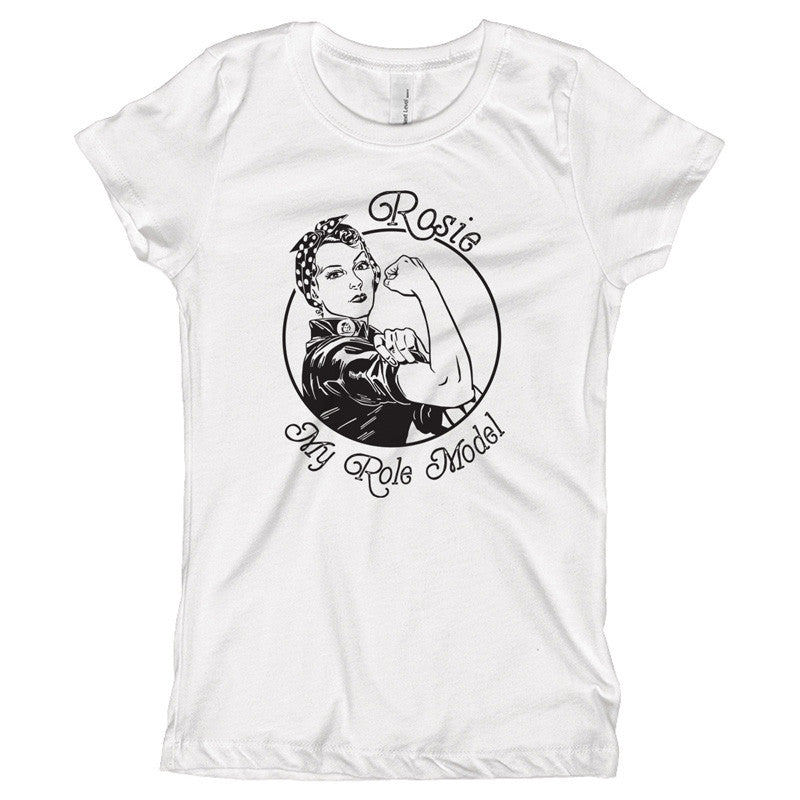 Rosie is my Role Model Youth Size T-Shirt