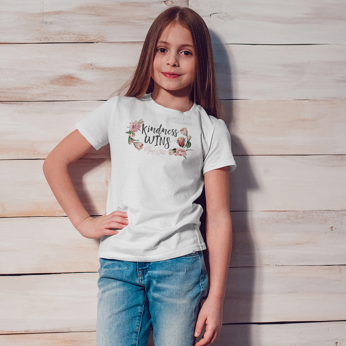 Kindness Wins Youth Size T-Shirt - pipercleo.com