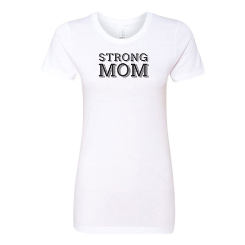 Strong Mom Ladies' Boyfriend T-Shirt
