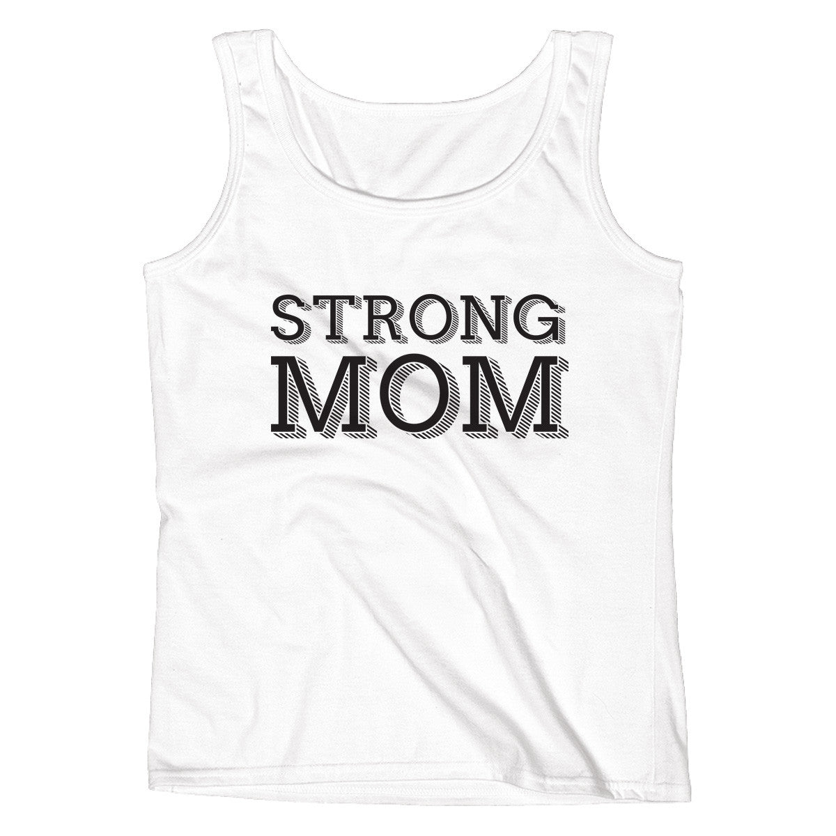 Strong Mom Ladies' Tank - pipercleo.com