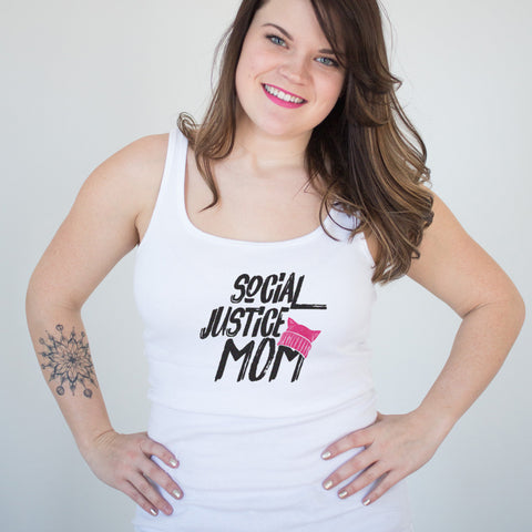 Social Justice Mom Ladies' Tank
