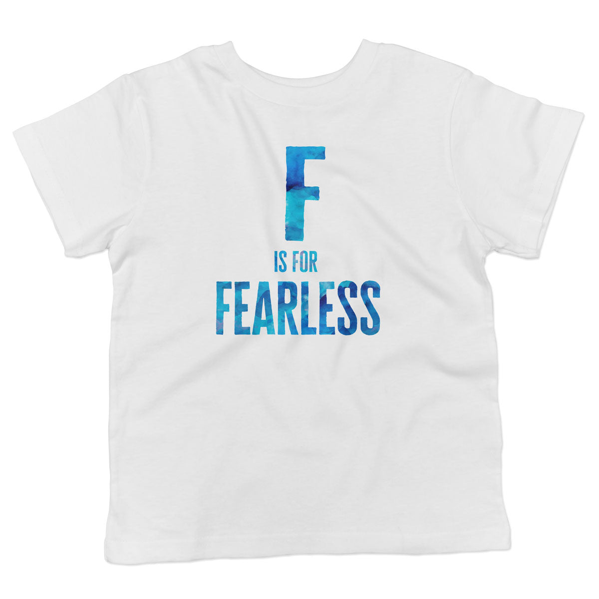 F is for FEARLESS Toddler Softstyle T-Shirt - pipercleo.com