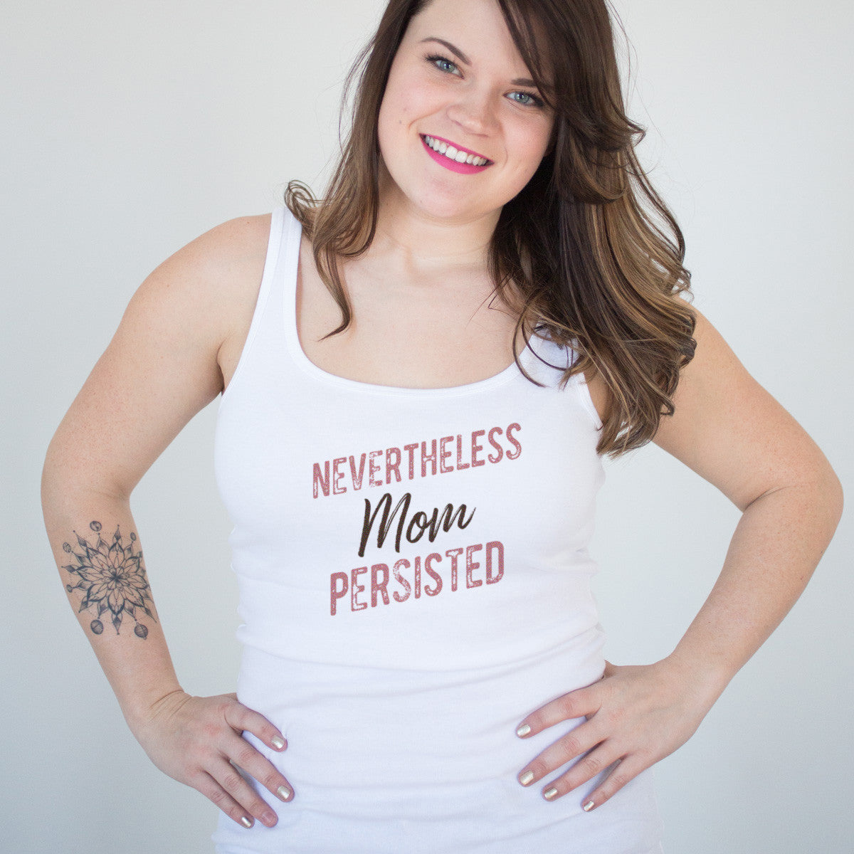 Nevertheless Mom Persisted Ladies' Tank - pipercleo.com