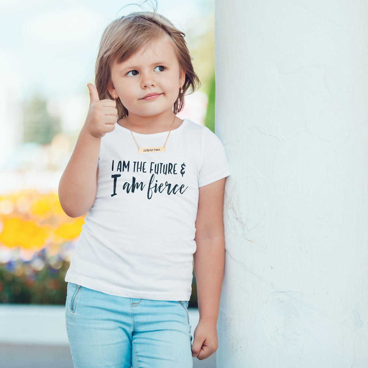 I am the Future and I am Fierce Toddler Softstyle T-Shirt