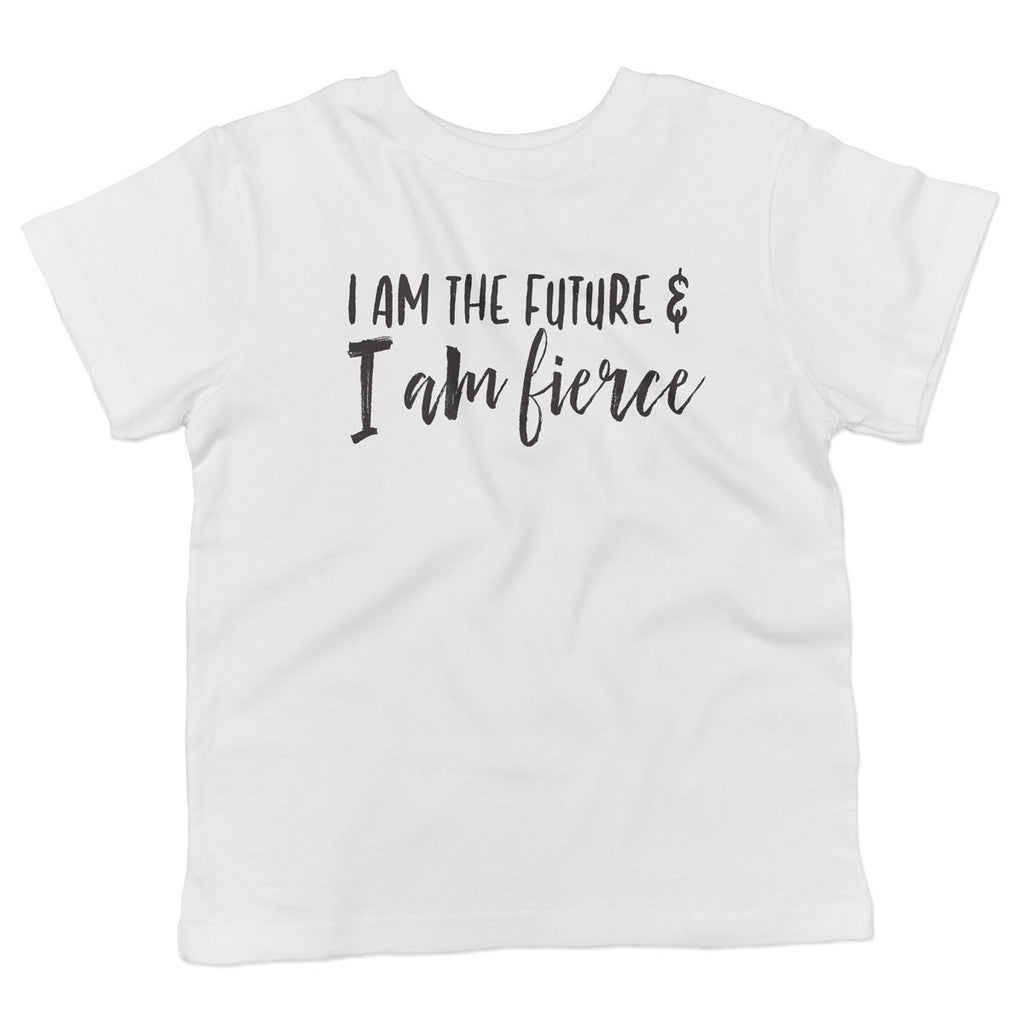 I am the Future and I am Fierce Toddler Softstyle T-Shirt - pipercleo.com
