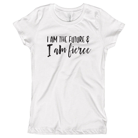I am the Future and I am Fierce Youth Size T-Shirt - pipercleo.com