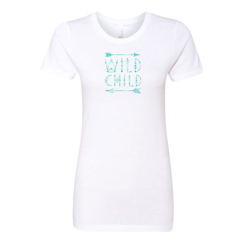 Wild Child Ladies' Boyfriend T-Shirt