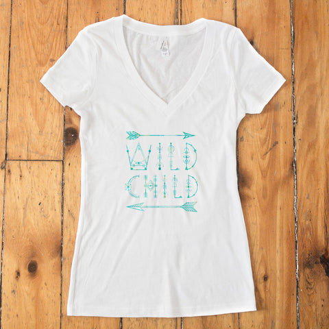 Wild Child V-Neck T-shirt