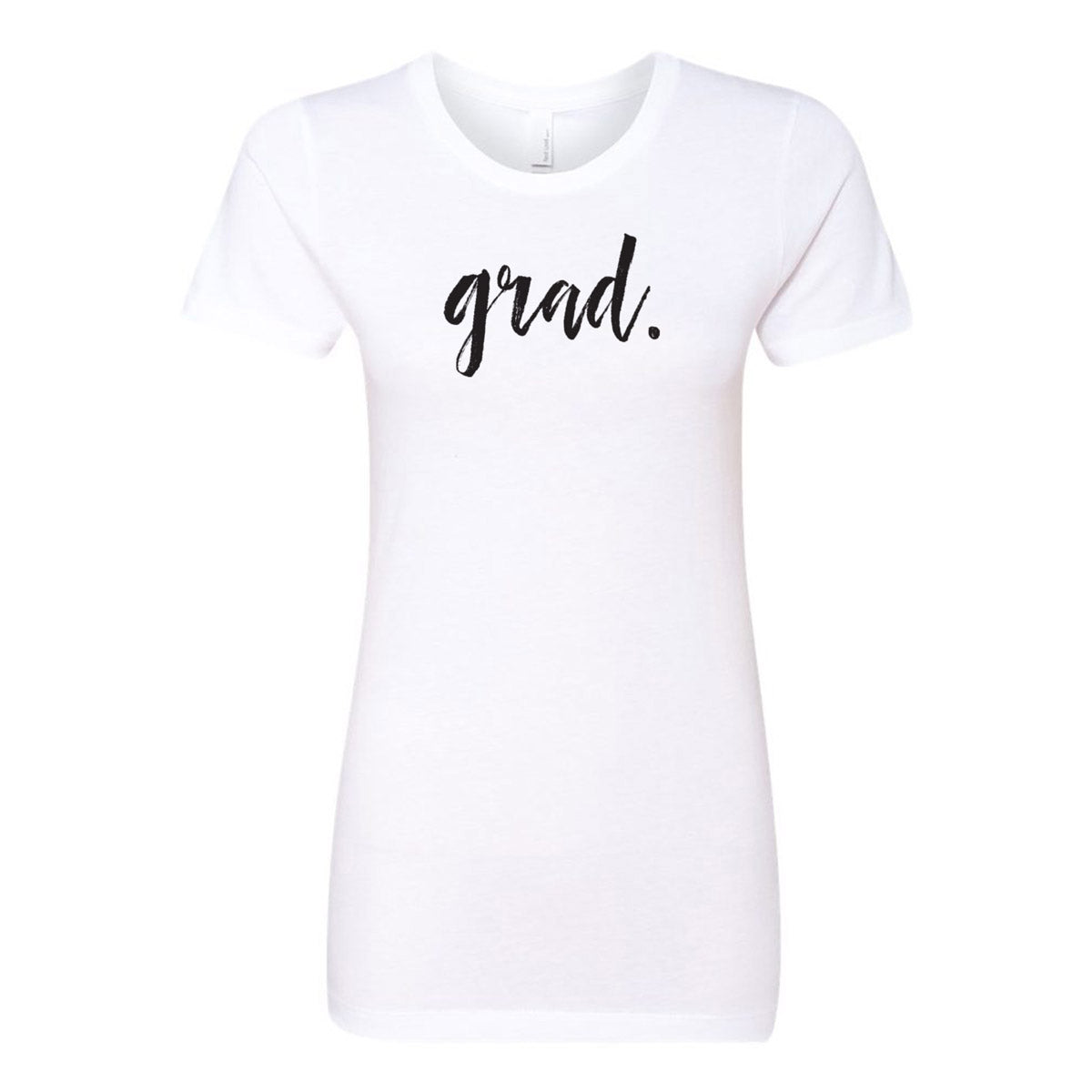 Grad. Ladies' Boyfriend T-Shirt - pipercleo.com