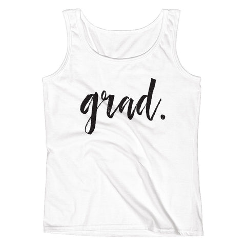GRAD. Senior Graduate Ladies' Tank