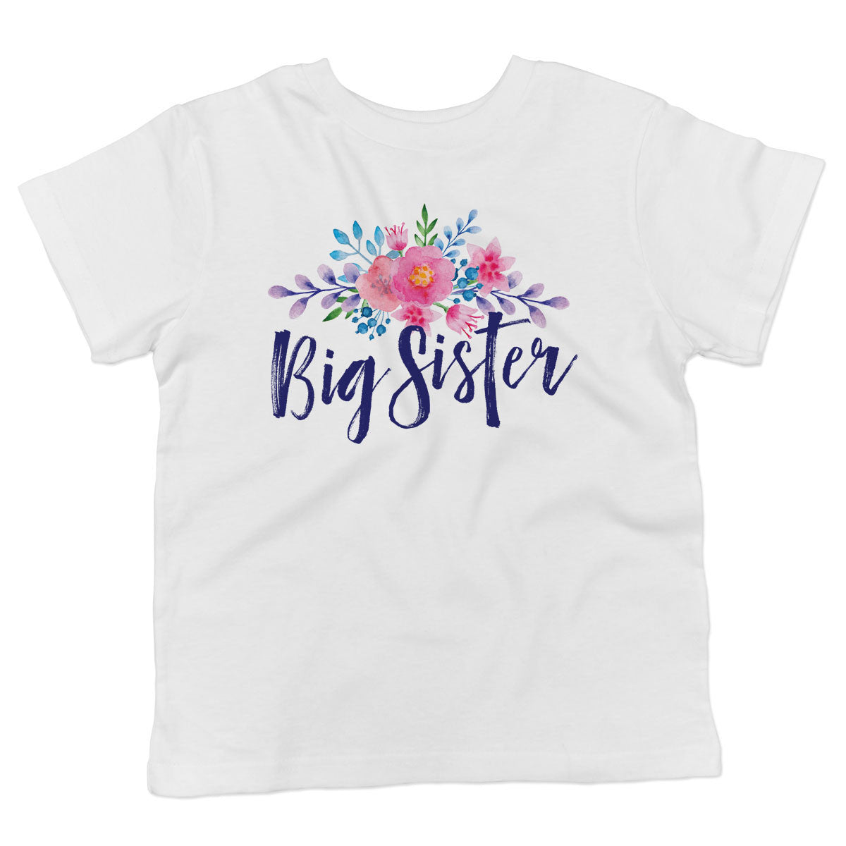 Big Sister Toddler Softstyle T-Shirt - pipercleo.com