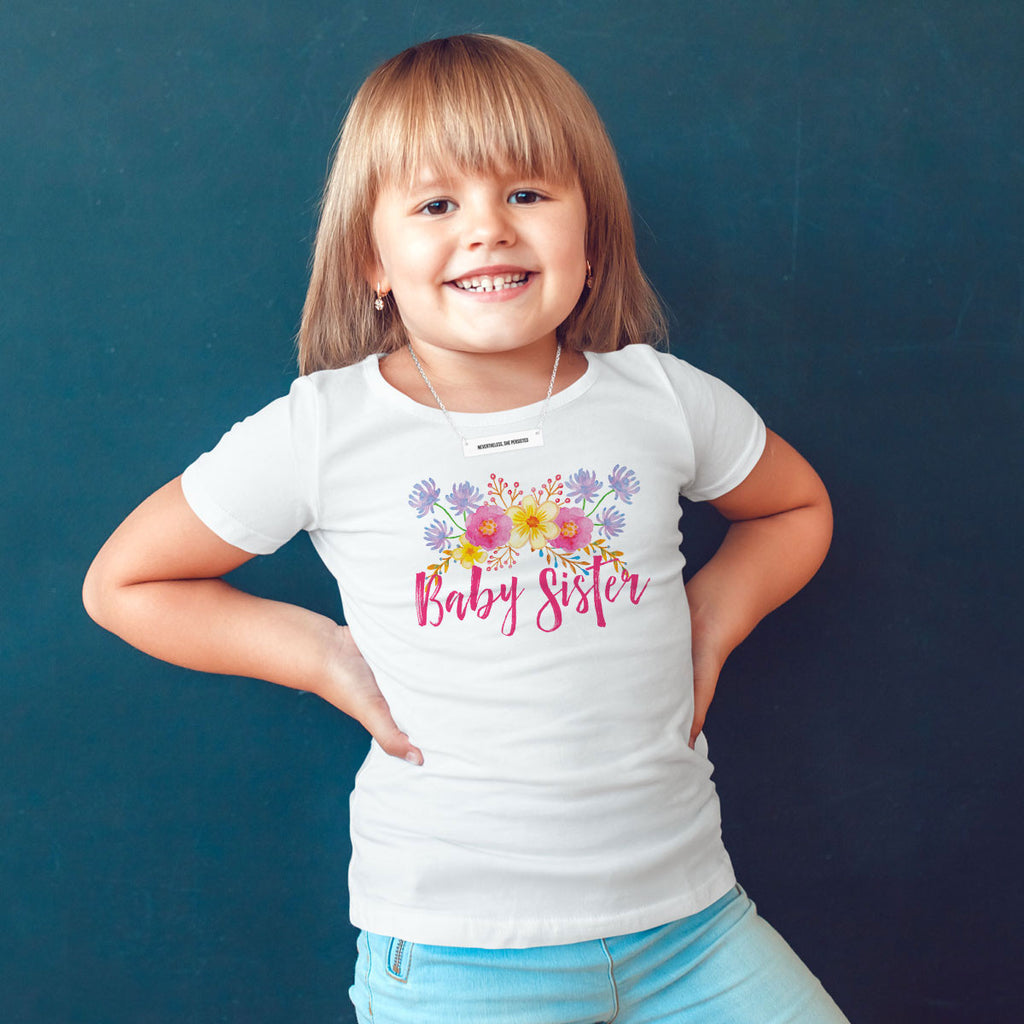 Baby Sister Toddler Softstyle T-Shirt - pipercleo.com