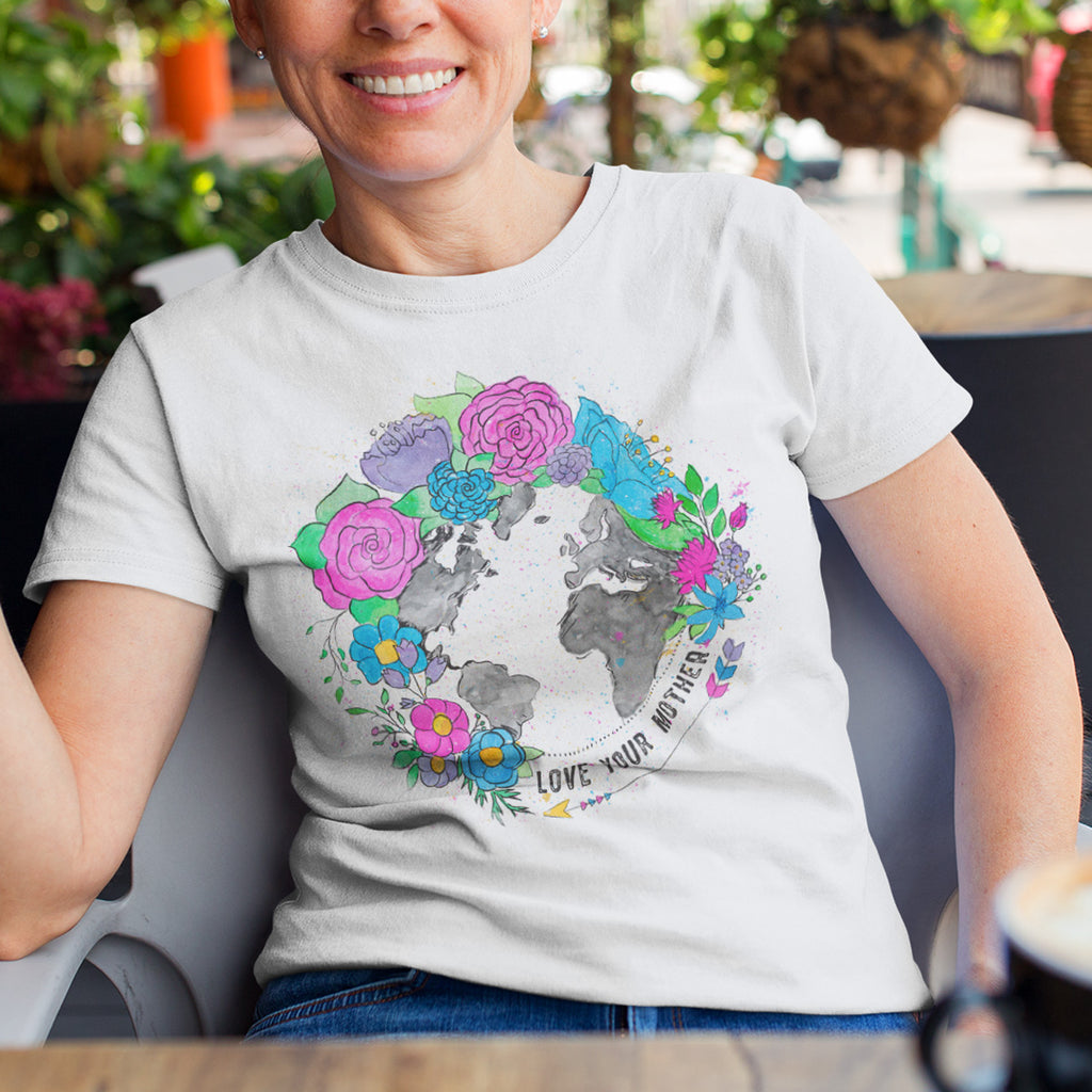 Love Your Mother Ladies' Boyfriend T-Shirt - pipercleo.com