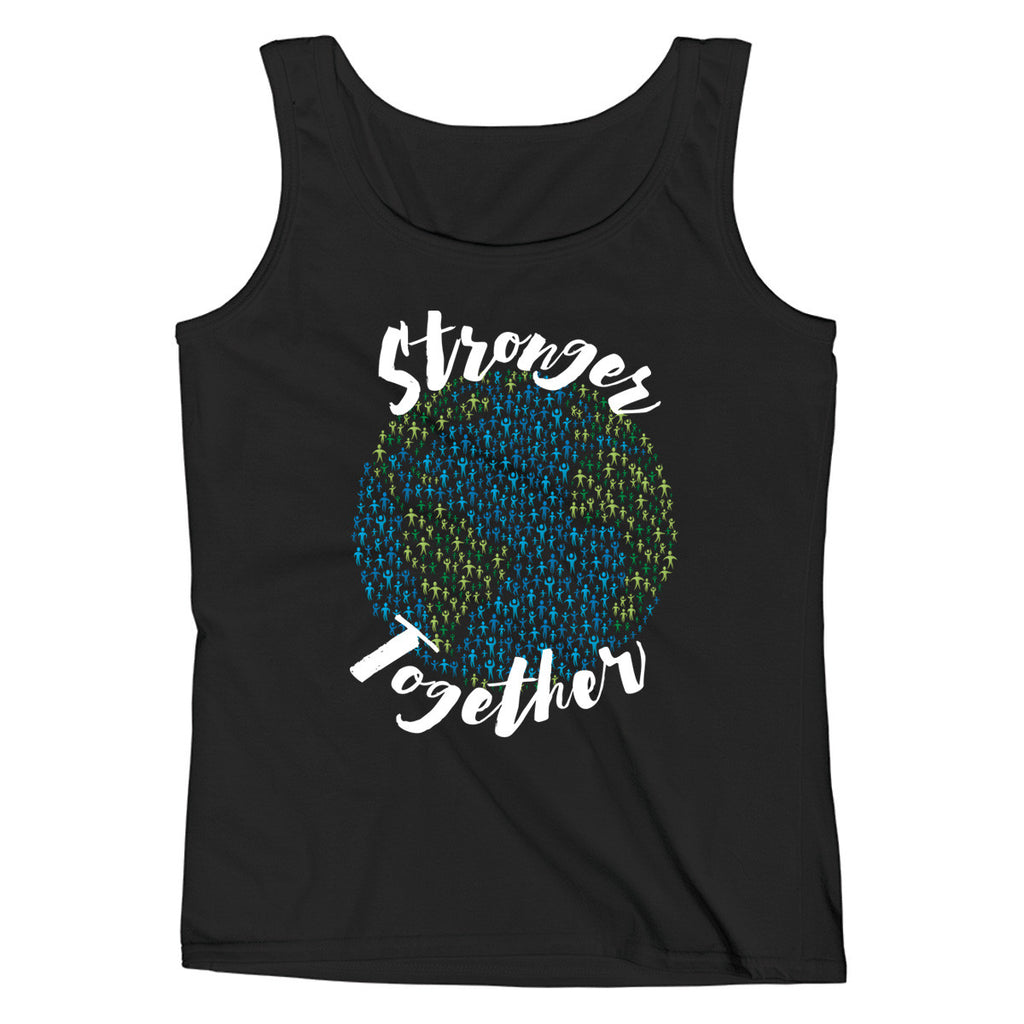 Stronger Together - Support Earth Ladies' Tank