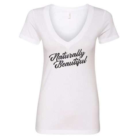 Naturally Beautiful V-Neck T-Shirt