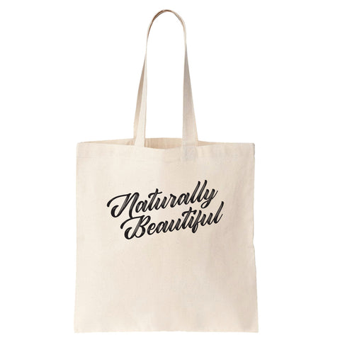 Naturally Beautiful Cotton Tote Bag