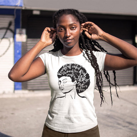Styled by Mother Nature Ladies' Boyfriend T-Shirt - pipercleo.com