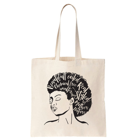 Styled by Mother Nature Cotton Tote Bag