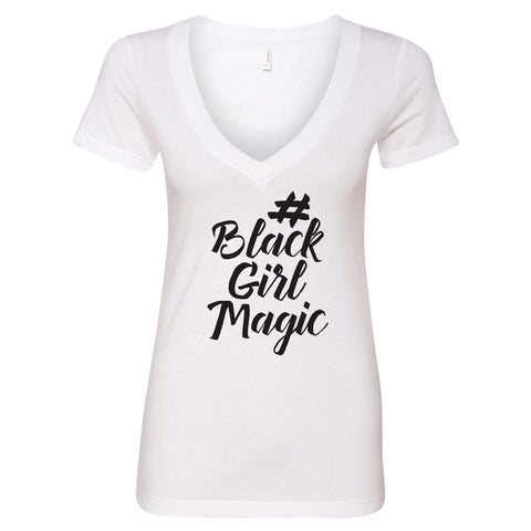 #BlackGirlMagic Perfect V-Neck T-Shirt