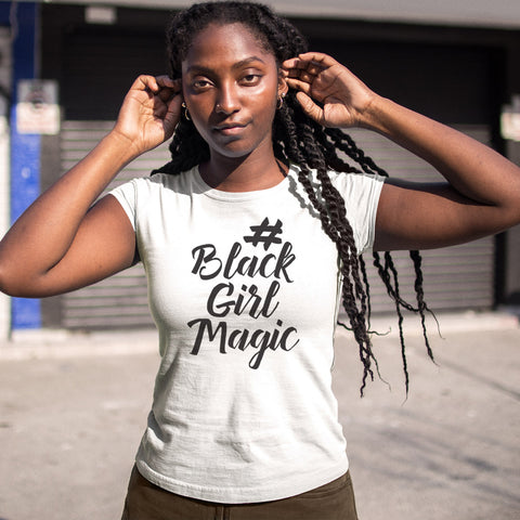 #BlackGirlMagic Ladies' Boyfriend T-Shirt