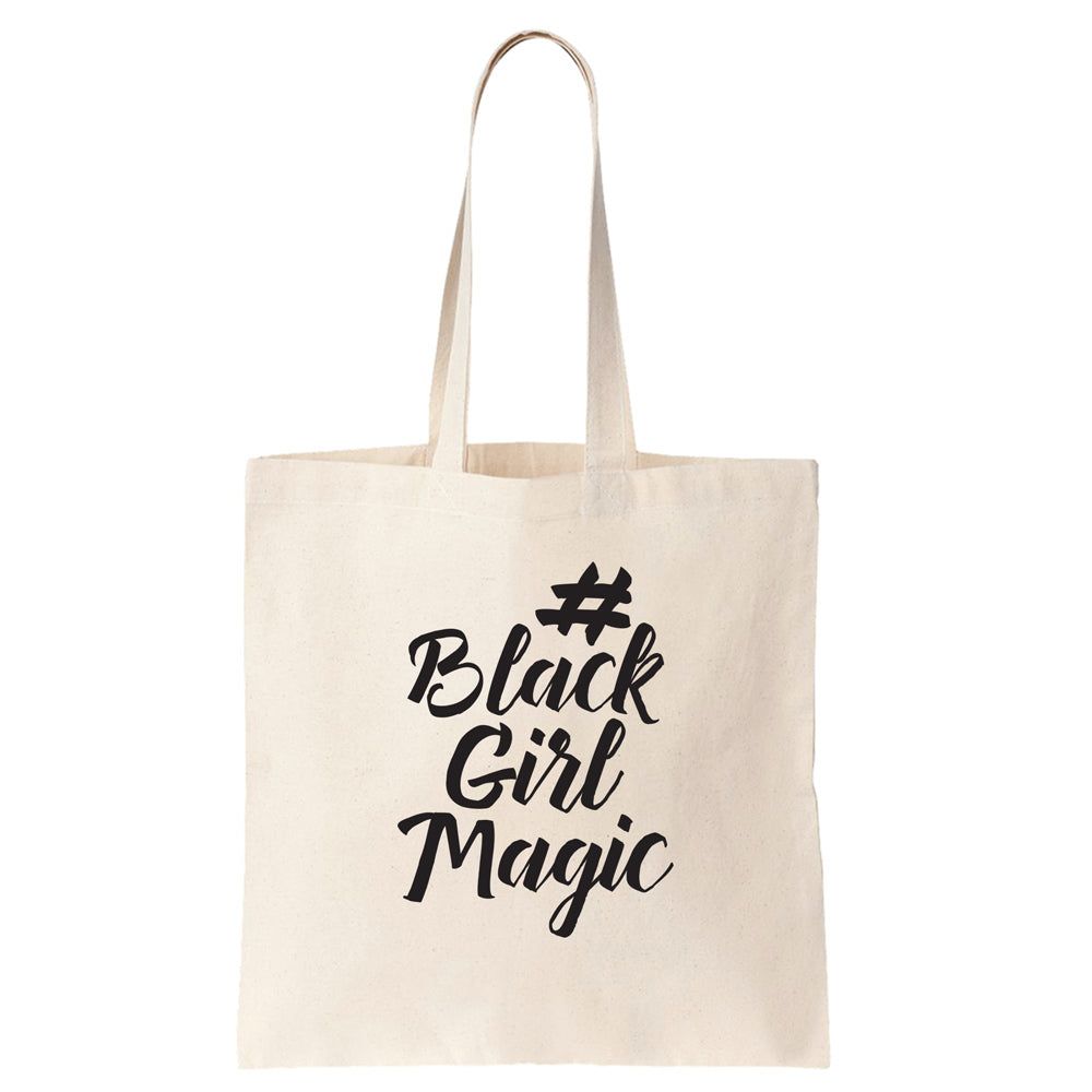#BlackGirlMagic Cotton Tote Bag - pipercleo.com