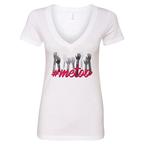 #METOO V-Neck T-Shirt - pipercleo.com