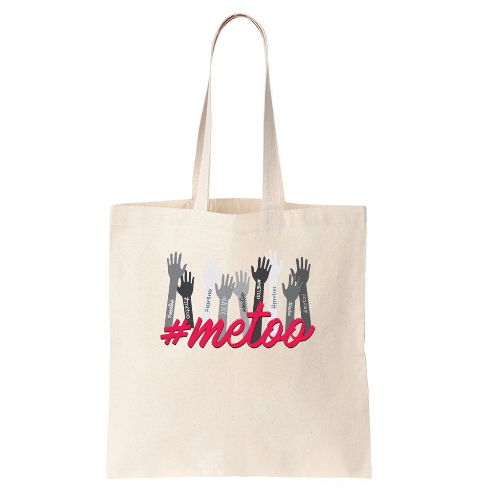 #METOO Cotton Tote Bag - pipercleo.com